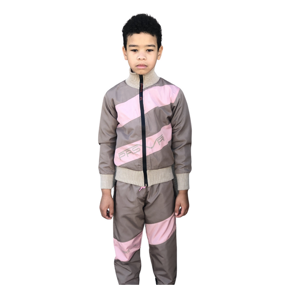 KIDS Uptown Jacket and Pant Set via Santa Monica