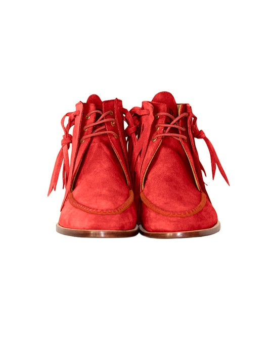 Dress Moccasin (Red)