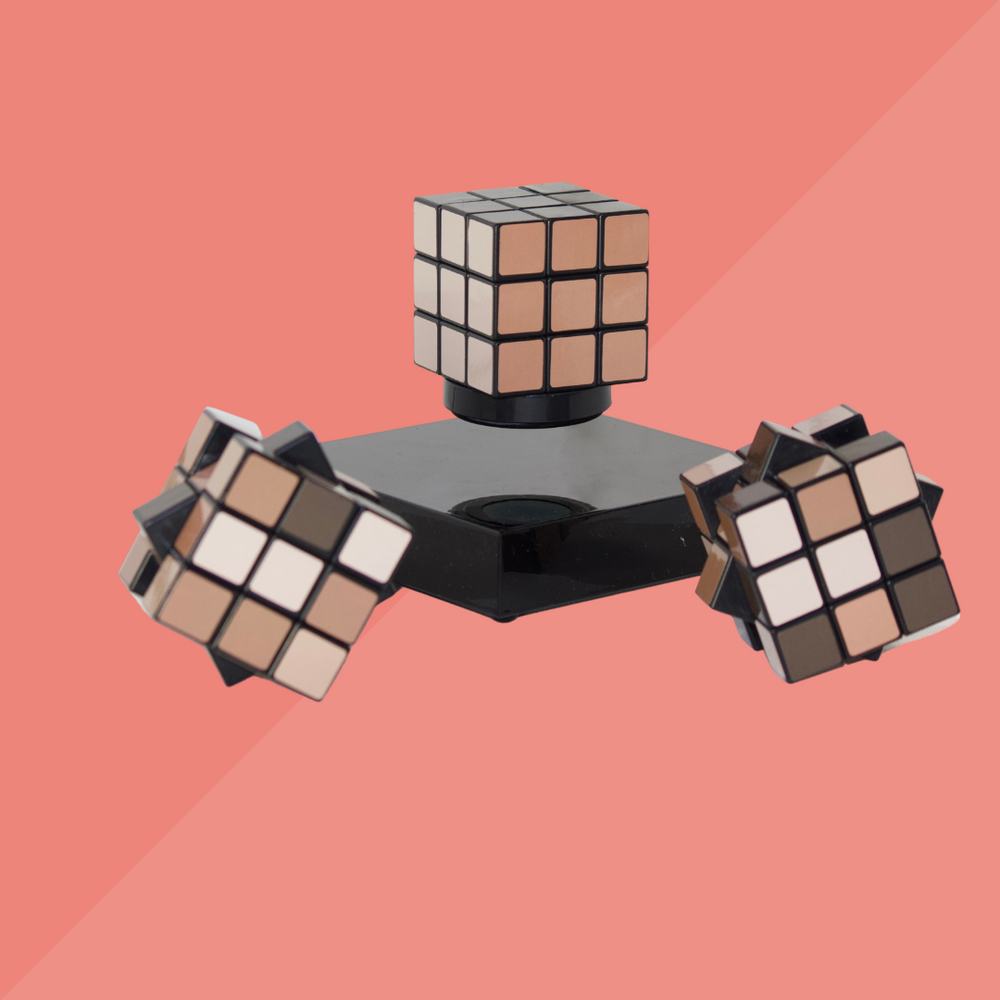 Load image into Gallery viewer, PRSVR x NOIRPOLITAN Puzzle Cube
