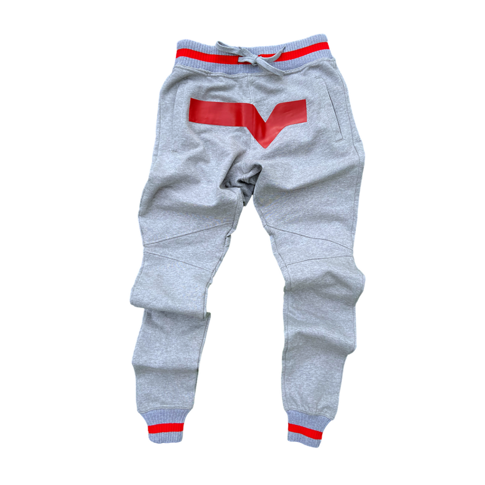 Load image into Gallery viewer, Elevated Valley Sweats (Gray/Red)