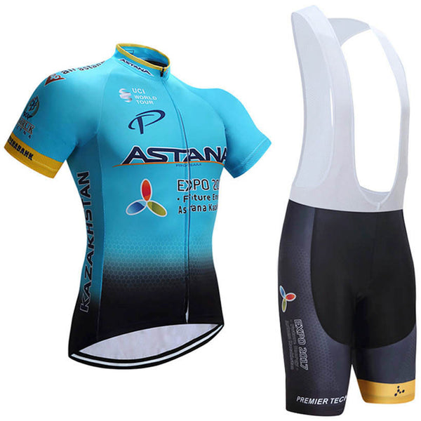 2017 Astana Team  New Cycling Set