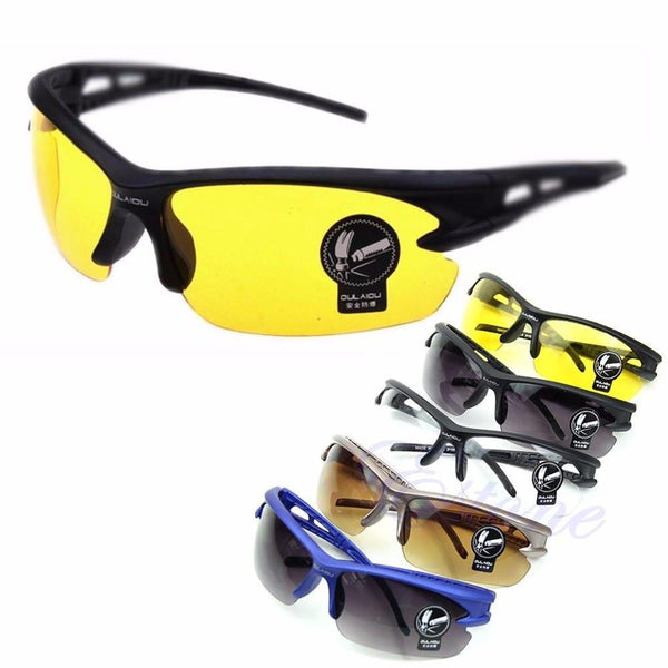 UV400 HD Night Vision Cycling Glasses Eyewear