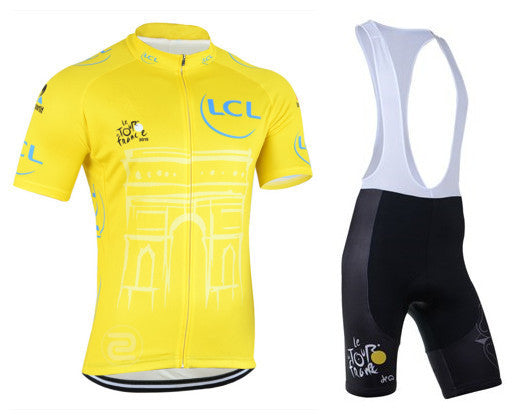 Tour De France Yellow Cycling Jersey