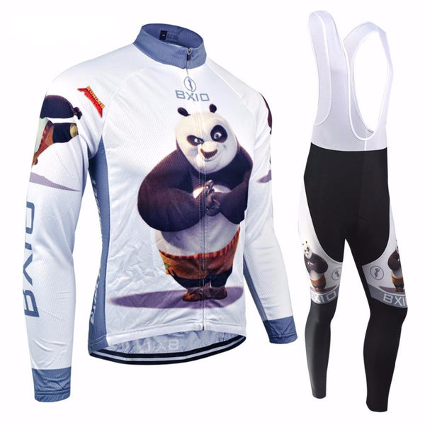 Winter Thermal Fleece Cycling Sets