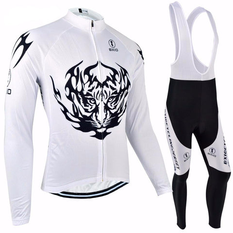 Winter Long Sleeve Cycling Sets 2017