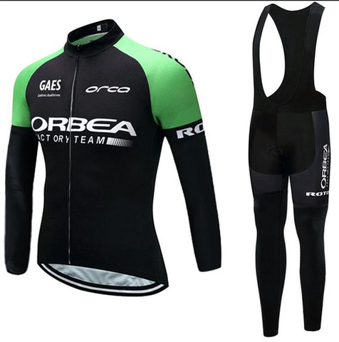 2017 New Winter Orbea Cycling Full Kit