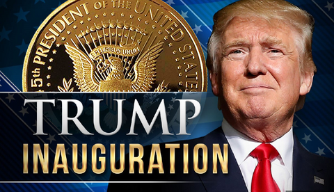 Image of 2018 Donald Trump 45th President, Collectors Edition 24kt Gold Plated Commemorative Replica Novelty Coin, Each Coin Comes With Stand & Display Case  (NOT LEGAL TENDER)