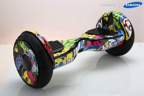 2017 10 Inch Hoverboard Segway for Sale, Comic Swegway Board with UL Certified on Sale in UK + Fidget Spinner - TheSwegWay-UK