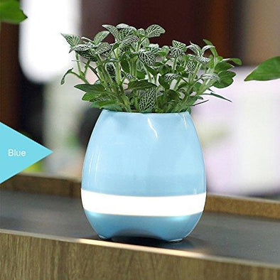 Intelligent Piano Flowerpot with Bluetooth Speaker & Led Light - TheSwegWay-UK