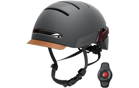 Livall BH51M Smart Urban Cycle Helmet with Controller - Graphite Black - TheSwegWay-UK