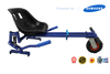 Blue Lambo Swegway HoverKart-X  Bundle ( GoPro* HD Camera Included) + Fidget Spinner - TheSwegWay-UK