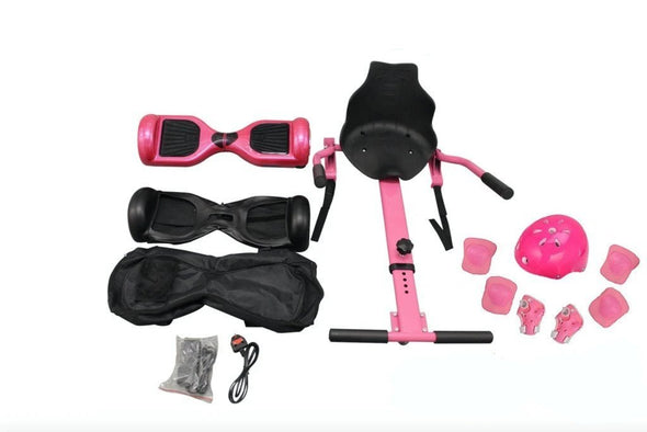 Pink Segway, Pink Segway Hoverboard UK, Pink bundle Hoverboard for Sale UK - TheSwegWay-UK