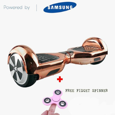 ROSE GOLD LIMITED CHROME EDITION 6.5 SWEGWAY HOVERBOARD   Segwayfun