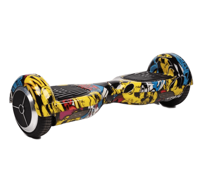 2019 Limited Edition Bluetooth Enabled 6.5 Classic hoverboard Comic HipHop Segway - TheSwegWay-UK