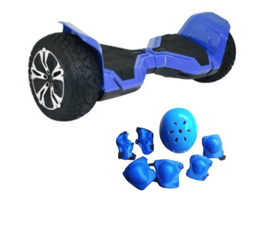 BLUE WARRIOR, THE STRONGEST HUMMER HOVERBOARD IN THE WORLD WITH METAL CASE, ALL TERRAIN OFF ROAD HOVERBOARD WITH APP