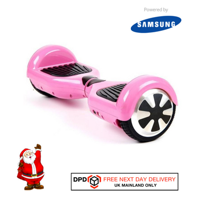Pink Classic Segway UL Certified Hoverboard 6.5 Inch for Sale with Samsung Battery - TheSwegWay-UK