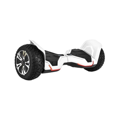 WHITE WARRIOR, THE STRONGEST HUMMER HOVERBOARD IN THE WORLD WITH METAL CASE, ALL TERRAIN OFF ROAD HOVERBOARD WITH APP