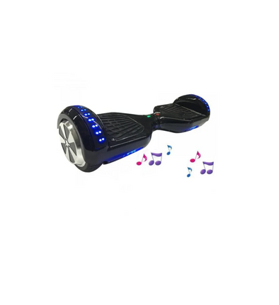 Stylish Black Class Disco 6.5 Inch Segway Hoverboard - TheSwegWay-UK