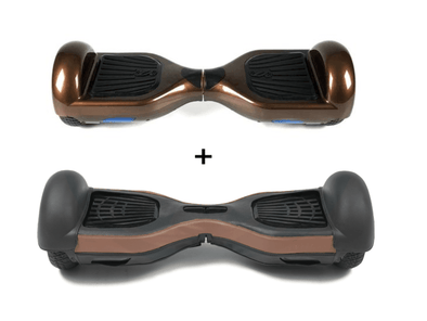 2019 Limited Edition Chocolate CLASSIC 6.5inch SWEGWAY HOVERBOARD - Protective Leather case - TheSwegWay-UK