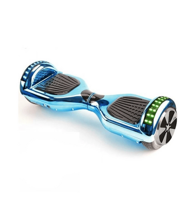 Blue Limited Chrome Edition 6.5 Inch Bluetooth Segway Hoverboard for Sale with Bluetooth Speaker + Fidget Spinner - TheSwegWay-UK