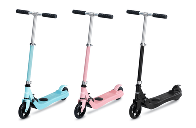 ICONBIT UNICORN ADJUSTABLE KIDS ELECTRIC SCOOTER + PROTECTIVE SET - TheSwegWay-UK