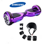 Chrome Purple Segway Bluetooth Hoverboard for Sale with Free Protective set - TheSwegWay-UK