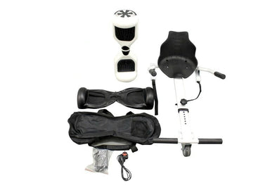 Stylish White Segway Hoverboard Bundle for Sale in UK with Free Leather Case - TheSwegWay-UK