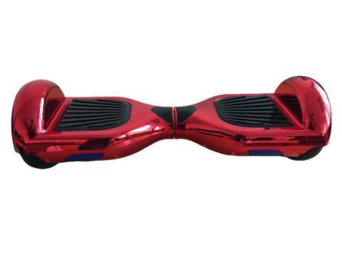 RED LIMITED CHROME EDITION 6.5 HOVERBOARD - TheSwegWay-UK