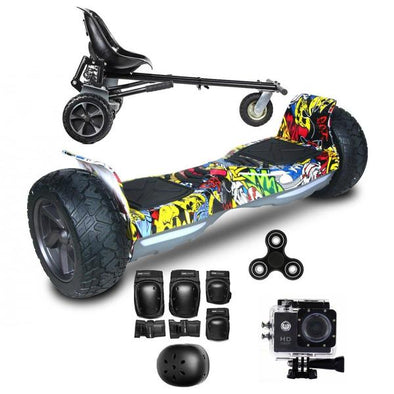 Stylish All Terrain Hoverboard Xtreme Segway Hoverboard/Hoverkart Bundle Deals UK for Sale - TheSwegWay-UK