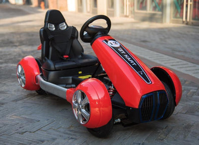 SPEED RACER Kids Electric Go kart Racing Ride On Toy Car - TheSwegWay-UK