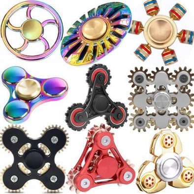 Metal Fidget Spinner - Must Have For EDC Stress Relief ADHD - TheSwegWay-UK