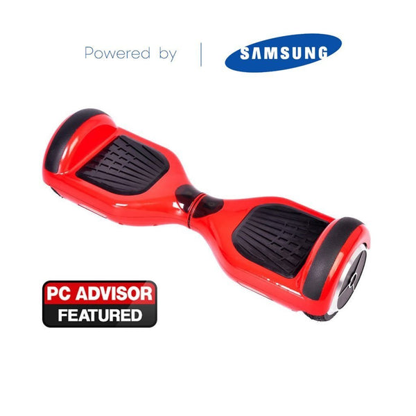Red CLASSIC 6.5inch SWEGWAY HOVERBOARD   BLUETOOTH   BAG   Segwayfun