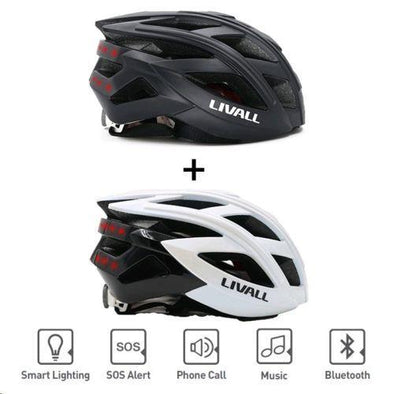 Livall BH60SE Bluetooth Enabled Smart Unisex Bike Bicycle Cycling Helmet-TheSwegWay-UK
