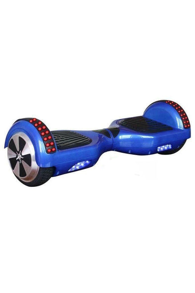 Stylish Blue Classic Disco 6.5 Inch Segway Hoverboard - Black Friday sale - TheSwegWay-UK