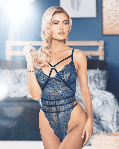 Strappy High Rise Teddy
