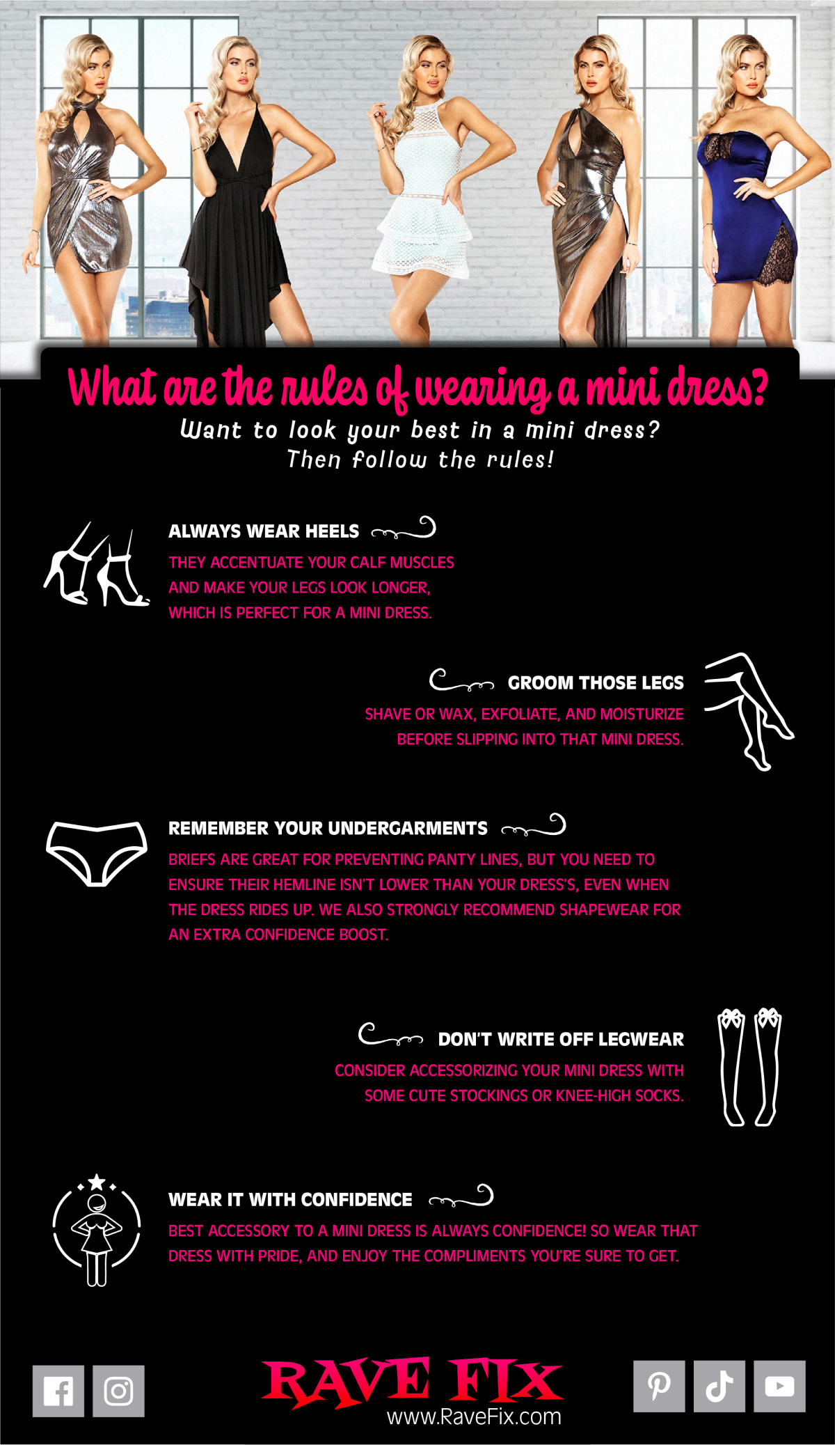 What Are the Rules of Wearing a Mini Dress?