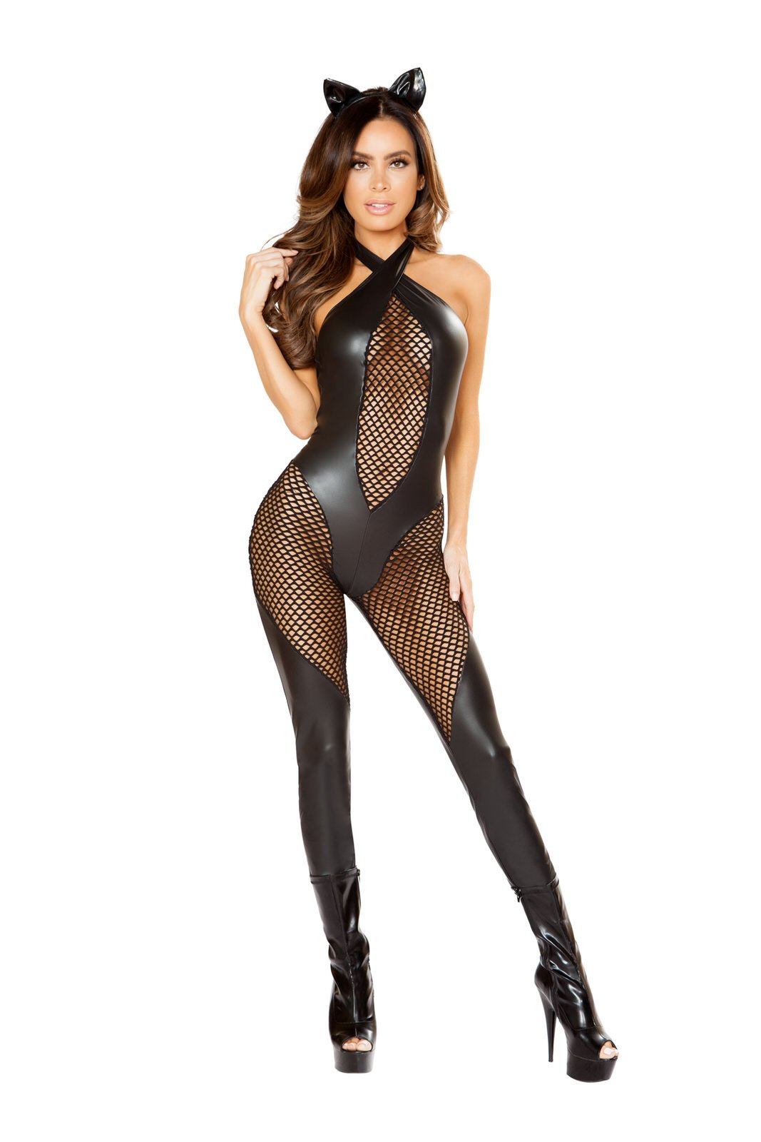 Buy 3pc Naughty Kitty from Rave Fix for $44.25 with Same Day Shipping Designed by Roma Costume 10120-AS-S