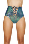 Buy Lace-Up High Waisted Shorts from Rave Fix for $28.00 with Same Day Shipping Designed by Roma Costume 3611-IB-S/M