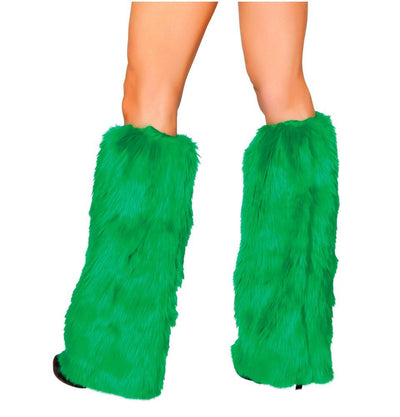 Buy Pair of Fur Boot Cover Fluffies from Rave Fix for $28.99 with Same Day Shipping Designed by Roma Costume C121-HG-O/S