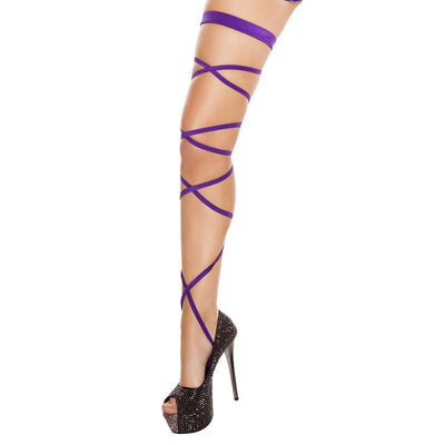 Buy Pair of Leg Strap with Attached Thigh Garter from Rave Fix for $9.75 with Same Day Shipping Designed by Roma Costume, Inc. 3231-PP-O/S
