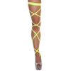 Buy Pair of Leg Strap with Attached Thigh Garter from Rave Fix for $9.75 with Same Day Shipping Designed by Roma Costume, Inc. 3231-Yellow-O/S