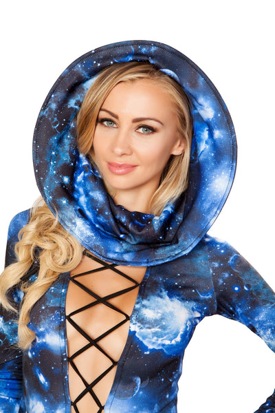 Buy 3270 - Wired Hood from Rave Fix for $29.00 with Same Day Shipping Designed by Roma Costume 3270-Galaxy-O/S