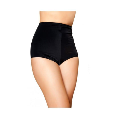 Buy High-Waisted Pinup Style Shorts from Rave Fix for $17.25 with Same Day Shipping Designed by Roma Costume SH3090-Blk-XL
