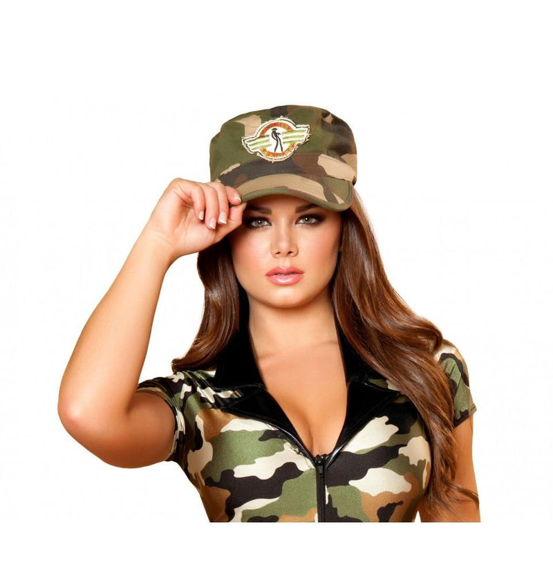 Buy H108 Army Hat from Rave Fix for $7.50 with Same Day Shipping Designed by Roma Costume H108-AS-O/S