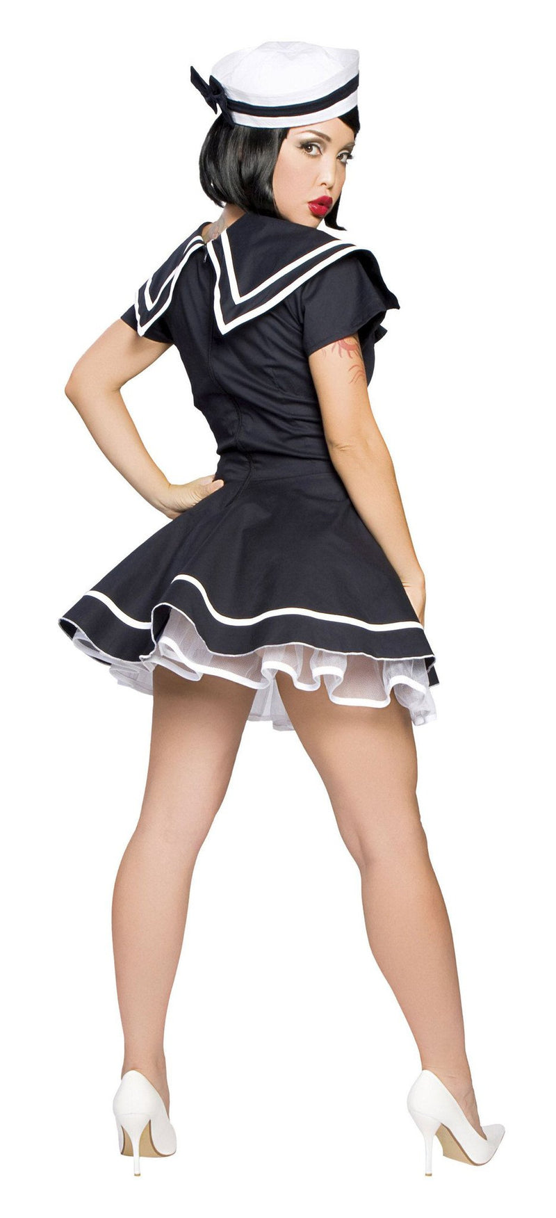 Buy 4094 - 2Pc Pin-Up Captain from Rave Fix for $51.75 with Same Day Shipping Designed by Roma Costume, Inc. 4094-AS-XS