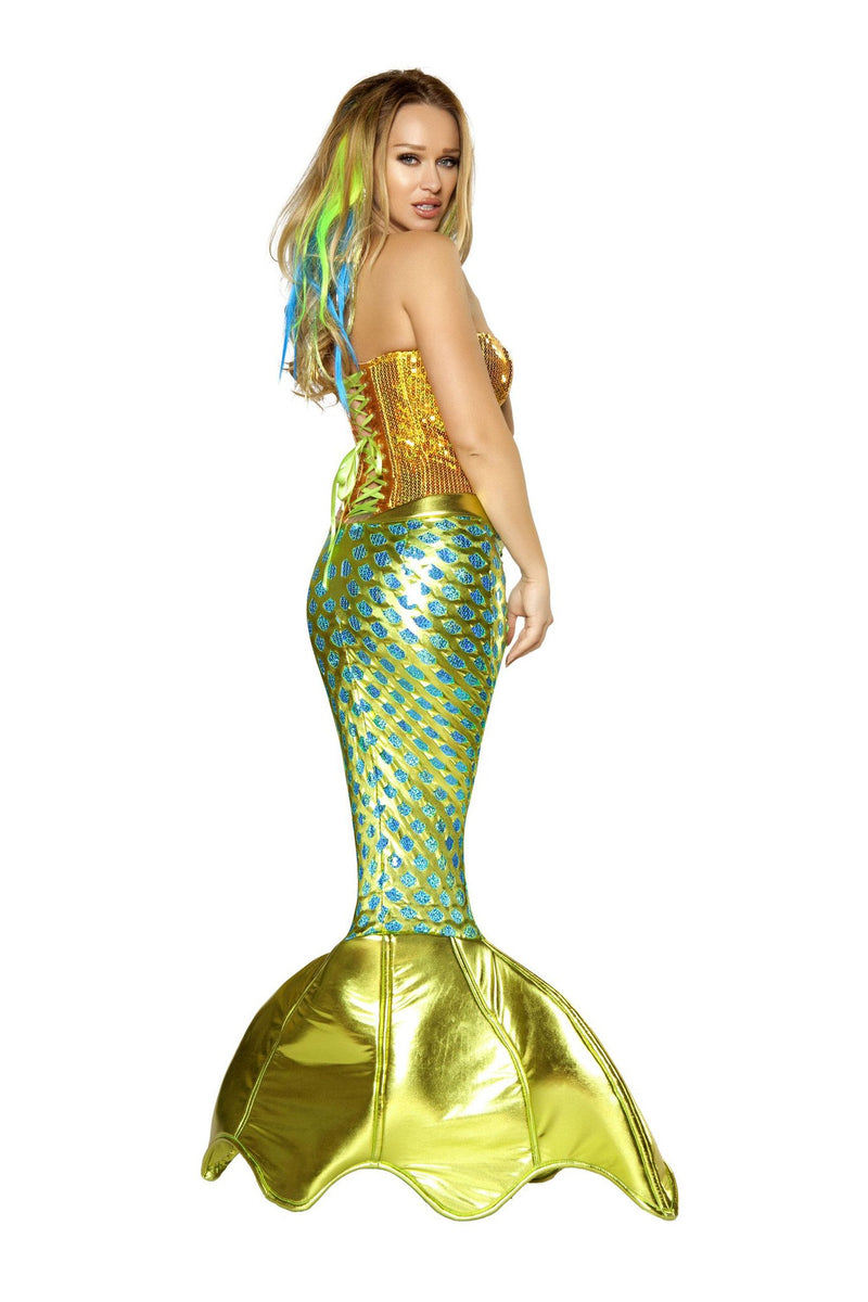 2pc Siren of the Sea Mermaid Costume