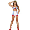 Buy 3pc Playful Pinup Sailor Costume from Rave Fix for $19.99 with Same Day Shipping Designed by Roma Costume 4395-AS-S/M