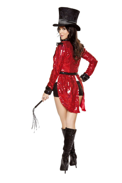 5pc Radiant Ringmaster Costume