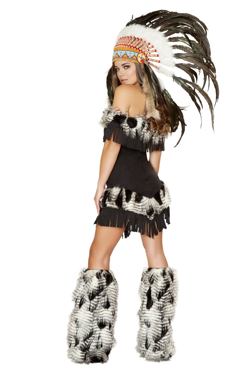 Buy 1pc Cherokee Princess Costume from Rave Fix for $67.50 with Same Day Shipping Designed by Roma Costume 4470-AS-S