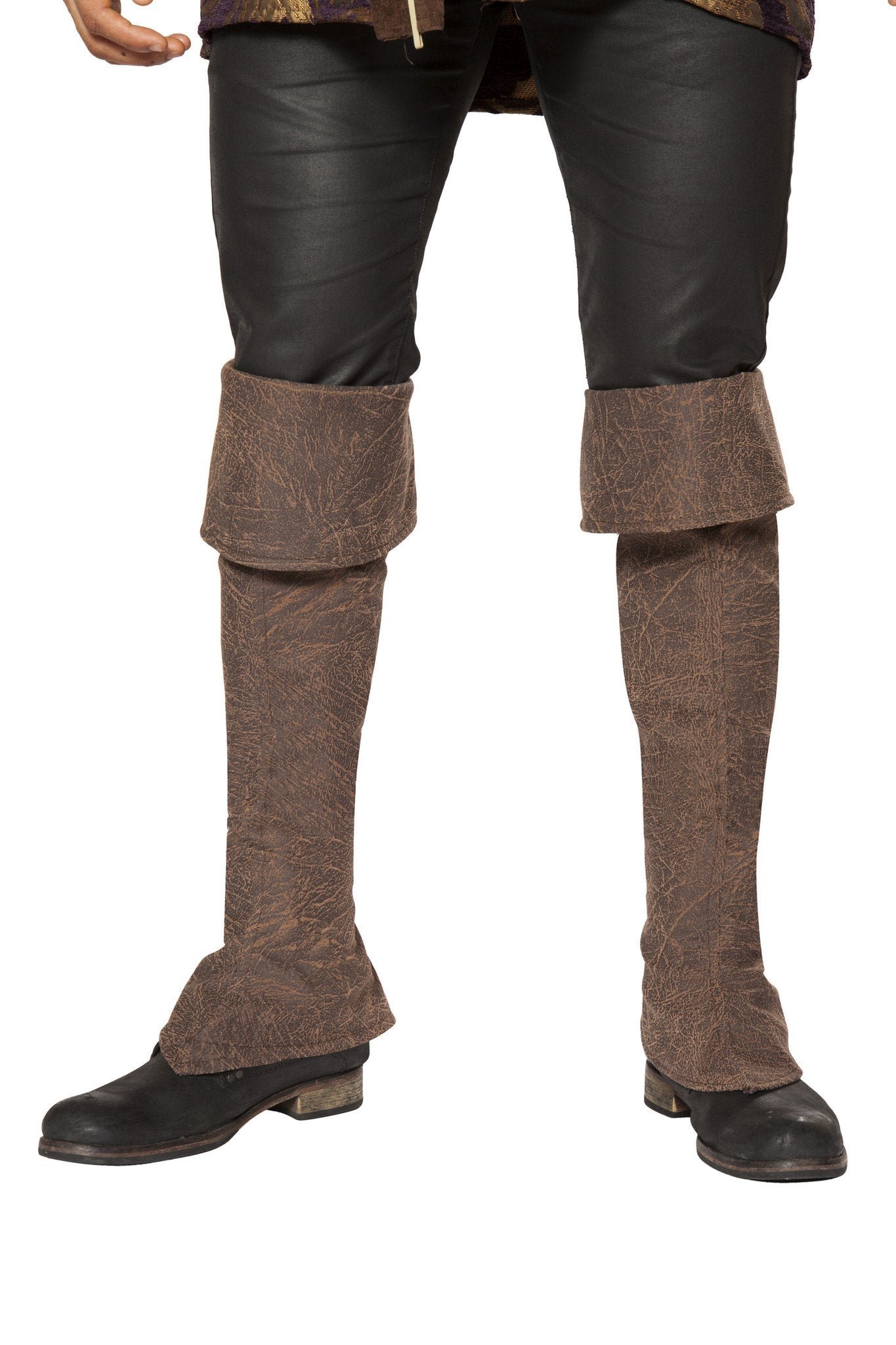 Buy Pirate Boot Covers with Zipper Detail from Rave Fix for $18.75 with Same Day Shipping Designed by Roma Costume 4650B-AS-O/S
